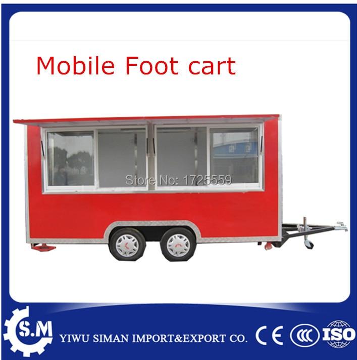 Sıcak satış sokak otomat sepeti can özelleştirilmiş mobil ayak kamyon sepeti çin mobil gıda römork sepeti