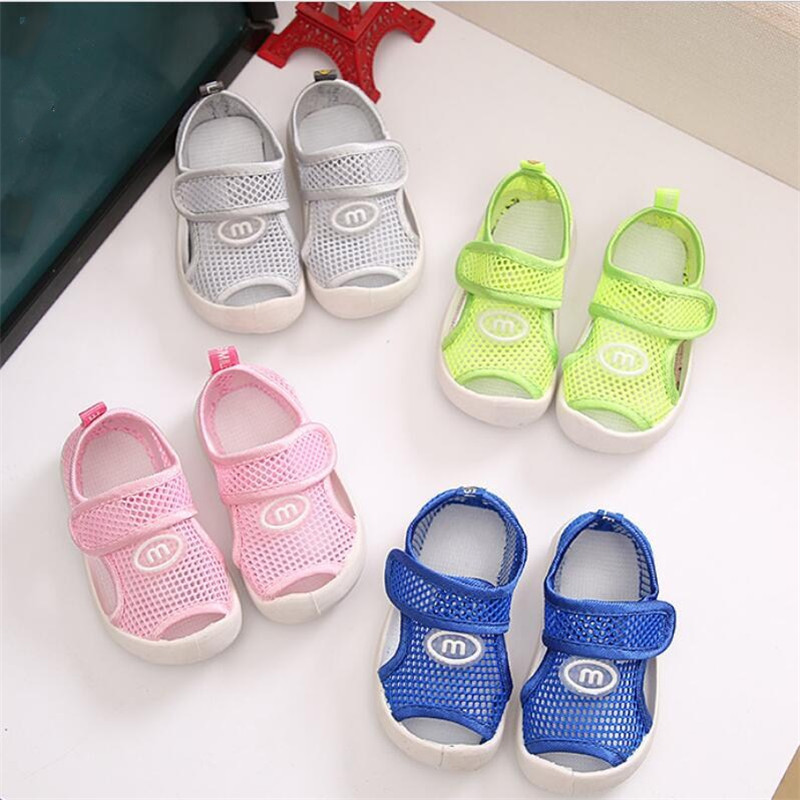 Shoes for Kids 2018 Summer Mesh Sandals for Toddler Girls Children Boys Beach Sandalias  ...