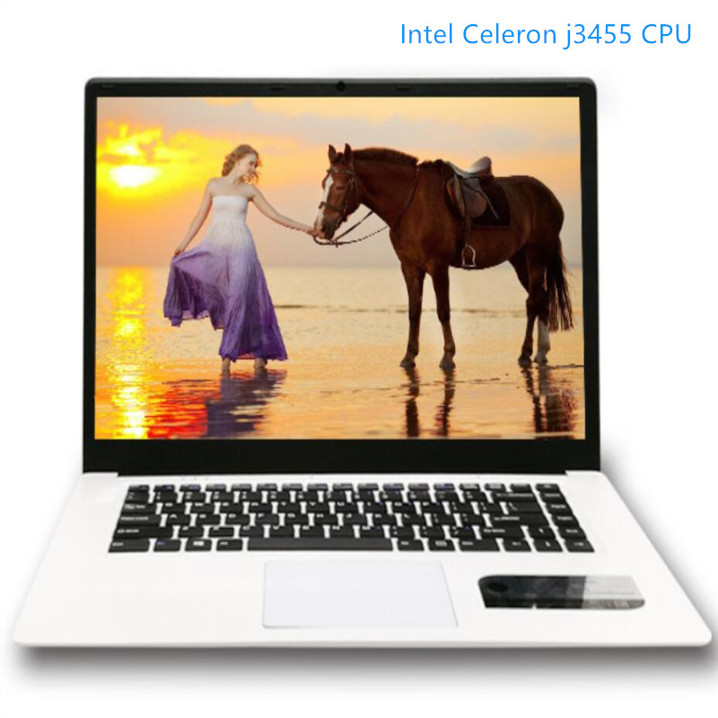 Intel Celeron J3455 Quad Core HD Graphics 8G RAM+240G <font><b>SSD</b></font> 15.6inch LED 16:9 HD 1920x1080P Windows10 <font><b>Notebook</b></font> laptop image