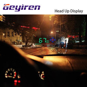 Compatible with All Car Speed Projector GPS Digital Car Speedometer A2 Electronics Head Up Display Auto HUD Windshield Projector