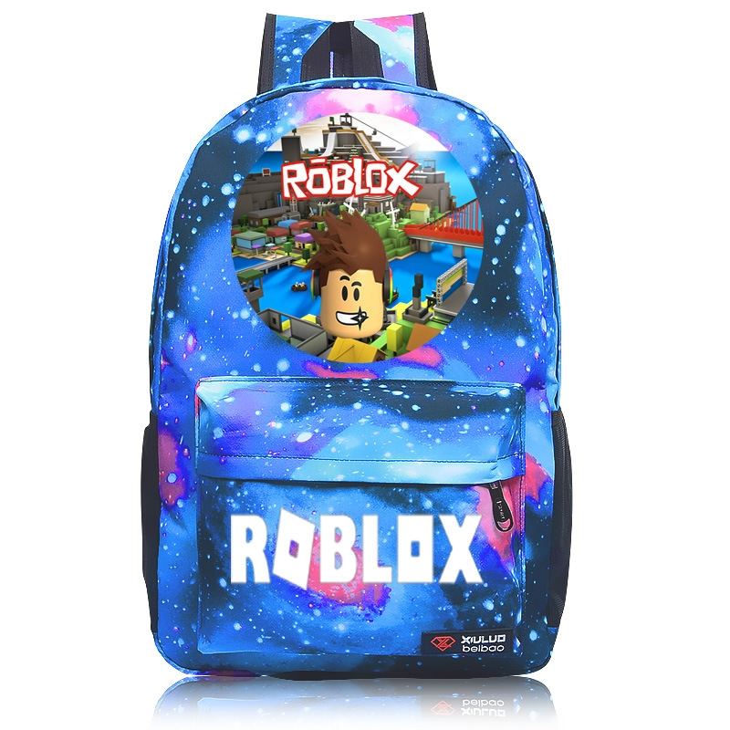 HOT Roblox game School Bags Backpack teenagers Kids Boys Unisex Laptop Bags new