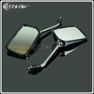 Uniwersalny 1 para motocykl części lusterka wsteczne i boczne dla HONDA CB400 CB750 CB1000 CB1300 CB-1 VTEC VT250 ZRX400 rowery uliczne