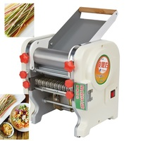 Free shipping Stainless Steel Electric Pasta Noodle Press wrappers automatic noodle maker Commercial Machine