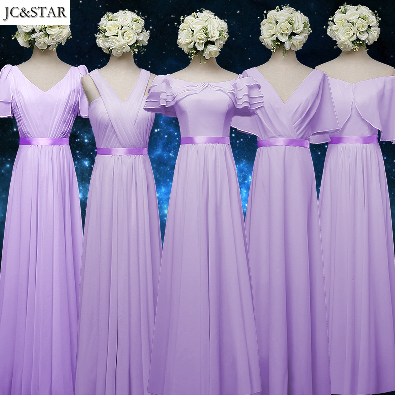 Jc star custom colors and sizes elegant new royal blue for Pink and blue wedding dresses
