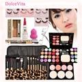 8pcs Best Makeup Sets Maquillaje Makeup Brush ADS Make Up Palette Powderpuffs Eyeshadow Perfect Cosmetics Sets Beauty Maquiagem