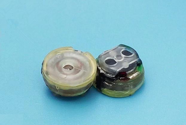 bilder für Ie800 lautsprecher 7,8mm kopfhörer einheit diy hifi fieber gute höhen lösen