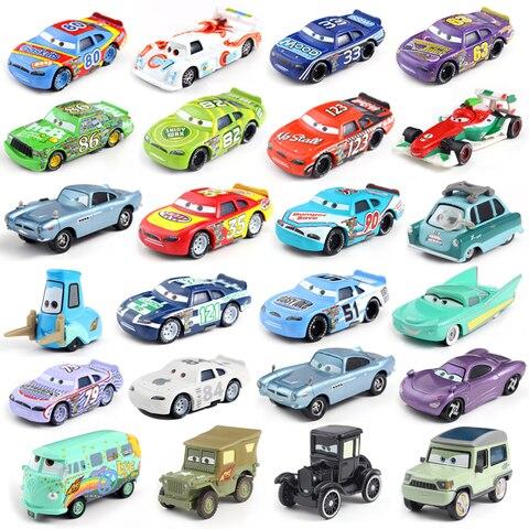 Cars Disney Pixar Cars 2 3 Lightning McQueen Mater Huston Jackson Storm Ramirez 1:55 Diecast Metal Alloy Boys Kids Toys Pakistan