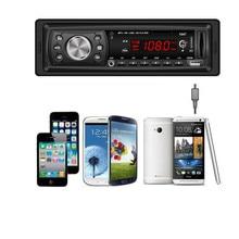 AUTO Cabeza Del Coche Entrada AUXILIAR Estéreo de Alta Calidad LCD de Audio Estéreo En El Tablero Auto Radio Del Coche Reproductor de MP3 FM Receptor USB SD de Entrada Aux Au15