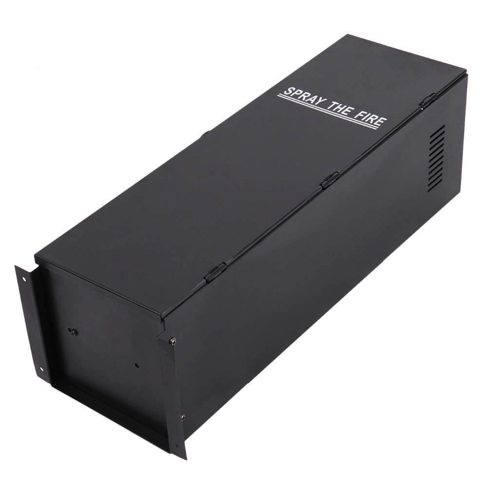 (Navire de l'ue) 2 PC 200 W DMX effet de pulvérisation de feu lance-flammes DJ scène projecteur Machine partie - 6