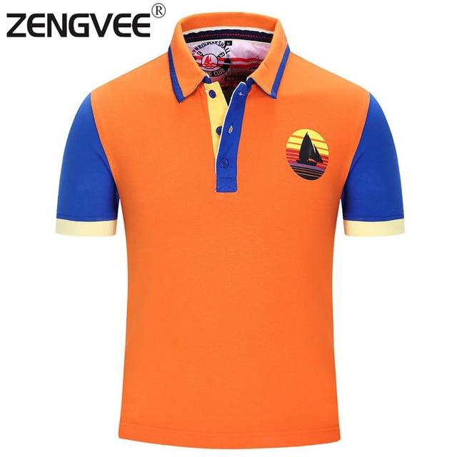Мода Дизайн Мужчины Новый Рубашки Поло Летний Стиль С Коротким Рукавом Хлопок Дышащая Западный Стиль Рубашки Европа и Америка Размер