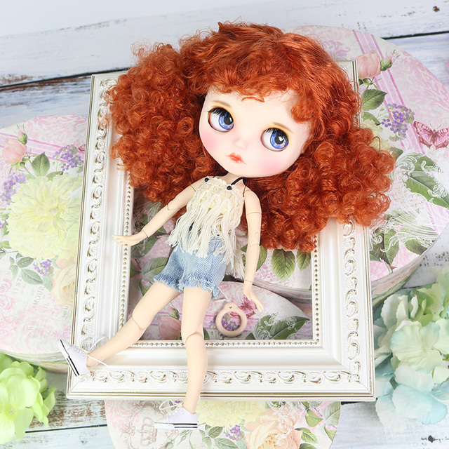 Robin – Premium Custom Blythe Doll with Clothes Cute Face