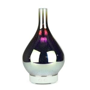 Image 1 - 3D Firework Glass แจกัน Shape Air Humidifier 7 สี LED Night Light น้ำมันหอมระเหยกลิ่น AROMA Mist อัลตราโซนิค hu
