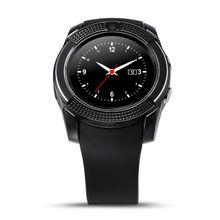 Original V8 Smart Watch Track Wristwatch Bluetooth font b Smartwatch b font Heart Rate Monitor Pedometer