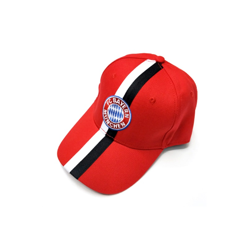 Bayern Red and Black AFA Logo Soccer World Cup 2019 New Embroidered   Baseball     Cap   C-0044
