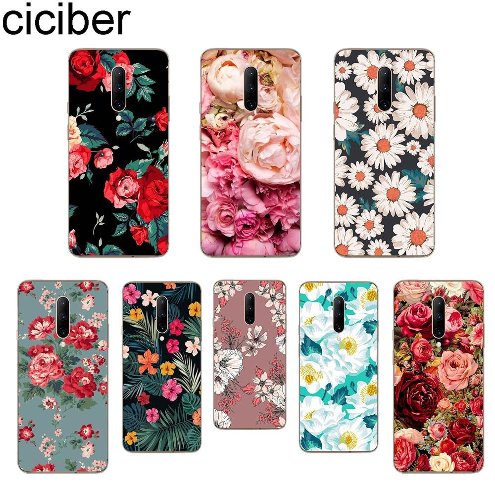 ciciber Rose Floral Phone Case For font b Oneplus b font font b 7 b font