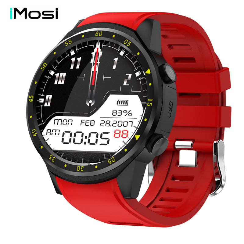 купить Imosi F1 Sport Smart Watch with GPS Camera Support Stopwatch Bluetooth Smartwatch SIM Card Wristwatch for Android IOS Phone по цене 3652.83 рублей