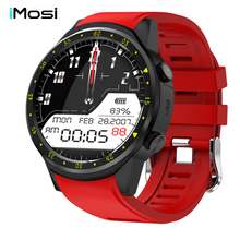 Imosi F1 Sport Smart Watch with GPS Camera Support Stopwatch Bluetooth Smartwatch SIM Card Wristwatch for Android IOS Phone