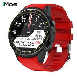 Montre intelligente Imosi F1 Sport avec caméra GPS chronomètre Bluetooth Smartwatch montre-bracelet carte SIM pour téléphone Android IOS