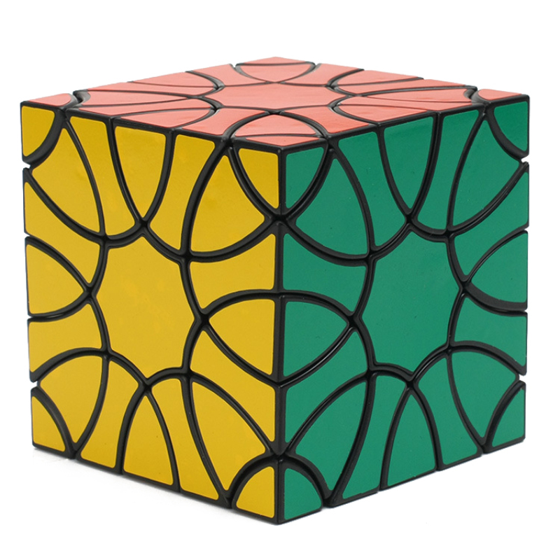 YKLWorld Newest Fun Profiled Clover Magic Cube High Quality Cubo Magico Professional Puzzle Cube Educational Toy Gift (S8 shengshou cube aurora magic cube white base fun educational toy page 9