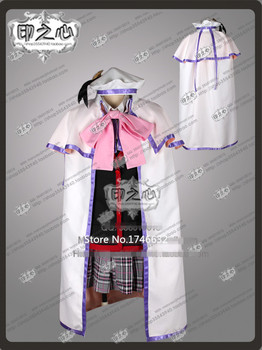 Hot Anime Little Busters Noumi Kudryavka Hallowmas Uniform Party Suit Cosplay Costumes Any Size Free Shipping