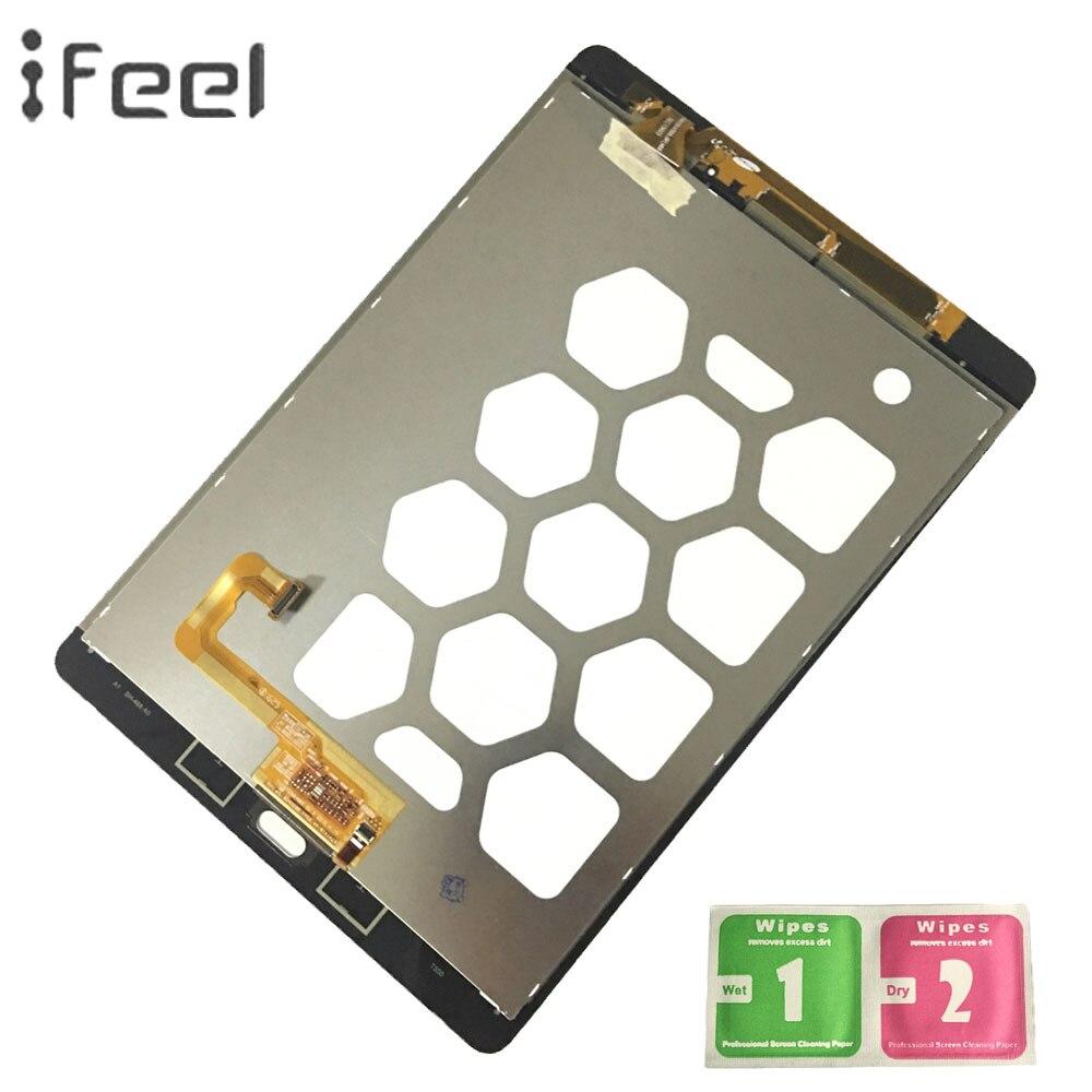 IFEEL LCD ekran dokunmatik ekran Digitizer meclisi Samsung Galaxy Tab bir 9.7 SM-T550 T550 T551 T555 siyah/beyaz lcdlerIFEEL LCD ekran dokunmatik ekran Digitizer meclisi Samsung Galaxy Tab bir 9.7 SM-T550 T550 T551 T555 siyah/beyaz lcdler