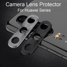 Camera Lens Protector For Huawei P30 P20 Pro Lite Case Metal Mobile Phone Lens Protective Ring Cover For Huawei Mate 20 X Case(China)