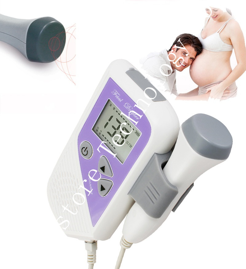 CE/FDA Approved Fetal Doppler 2.5MHz Probe LCD Ultrasound Prenatal Detector Fetal Baby Heart Rate Monitor Best Gift For Wife футболка prenatal футболка