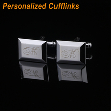 Personalized Fashion Cufflinks for Wedding Party
