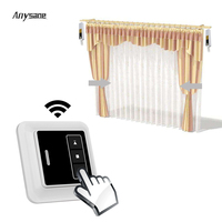 Anysane Wireless Remote Control RF 1CH Curtain Emitter Single Channel Hand Hold And Wall Type Trnasmitter