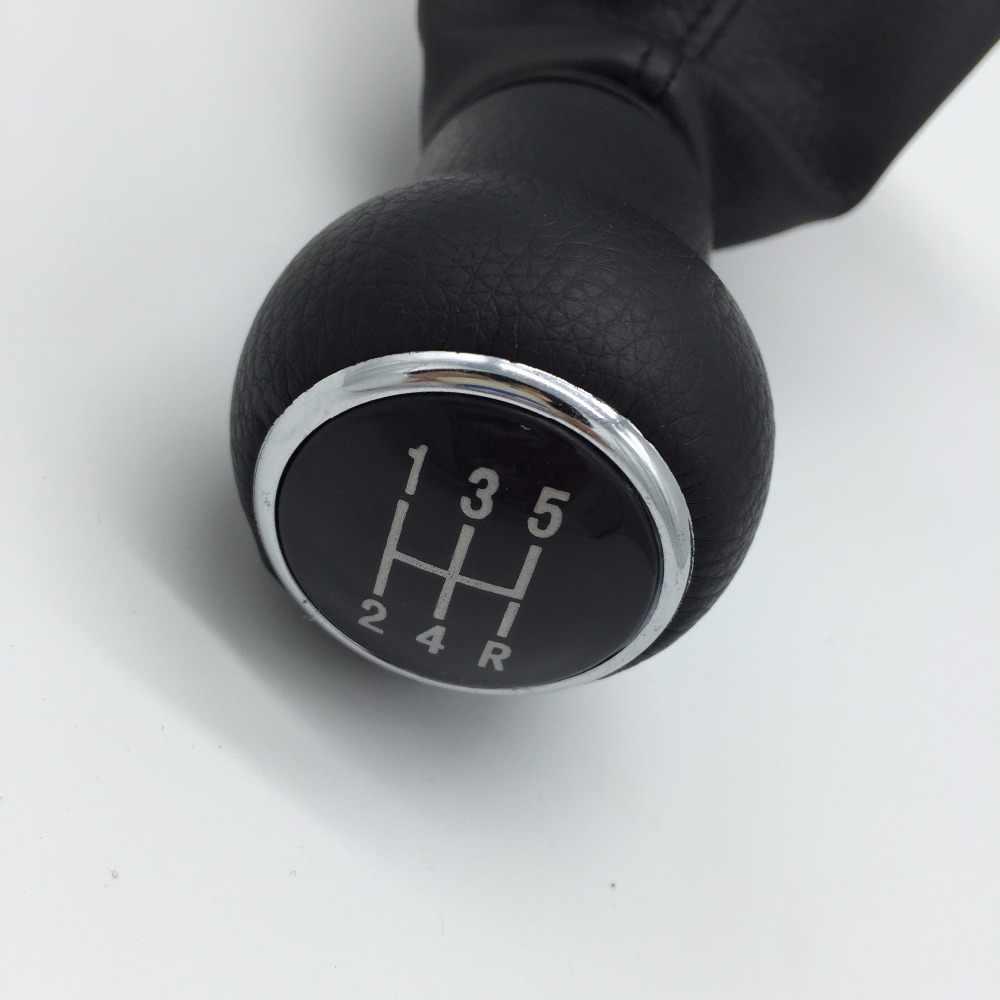 Newbee 5 Hız Araba Styling Vites vites topuzu Kolu Gaitor bot kılıfı Audi A6 C5 A4 B5 A8 D2 1996 1997 1998 1999 2000 2001