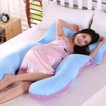Maternity Body Pillow U-Shape Pregnant Women Nursing Side Sleeper Comfy Belly Contoured Baby Breastfeeding