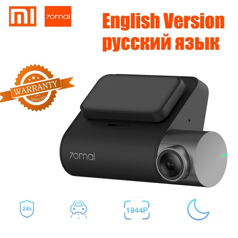 Xiaomi 70mai Traço Cam Pro Controle de Voz Noite Versão GPS IMX335 WI-FI