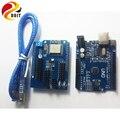 Оригинал DOIT Развития Wi-Fi Комплект для Arduino UNO R3 + ESP8266 Wireless WiFi Щит Для CH340G MEGA328P Пульт дистанционного управления Робот