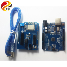 Best Buy DOIT Development WiFi Kit for Arduino UNO R3 + ESP8266 Wireless WiFi Shield For CH340G MEGA328P Remote Controller Robot