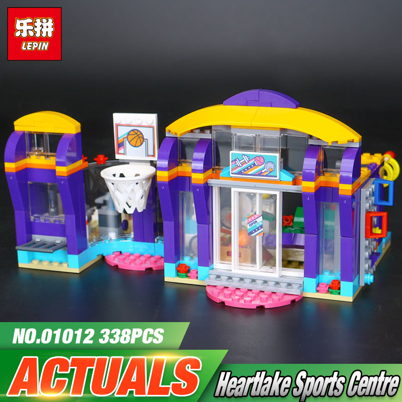 Lepin 01012 New Good Girls Series The Lakeheart Sport Centre Set Children Building Blocks Bricks Toys Model Gift 41312 new lp2k series contactor lp2k06015 lp2k06015md lp2 k06015md 220v dc