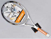 Buy Top Material Carbon Fiber Nano Ti Tennis Racket Head Raquete String with 4 gifts