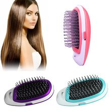 Portable Massage Straight Hair Comb Hair Negative Ion Comb Anti-static Hair Comb Brush(China)