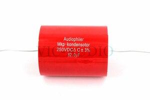 1Piece Audiophiler MKP Kondensotor 250VDC 82uf 3% Audio Capacitor Amplifier HIFI Capacitance 82.0UF Free Shipping