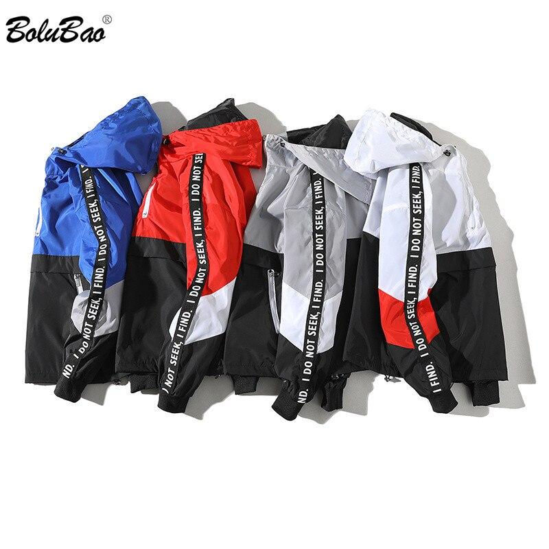 BOLUBAO Fashion Brand Men Jackets Autumn Men's Hip Hop Embroidered Jacket Coat Mens Slim Fit Jacket Streetwear Male
