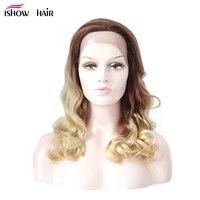 Парики из натуральных волос на кружевной основе с Омбре 180% Плотность бразильские свободные волнистые волосы Remy парики из натуральных волос