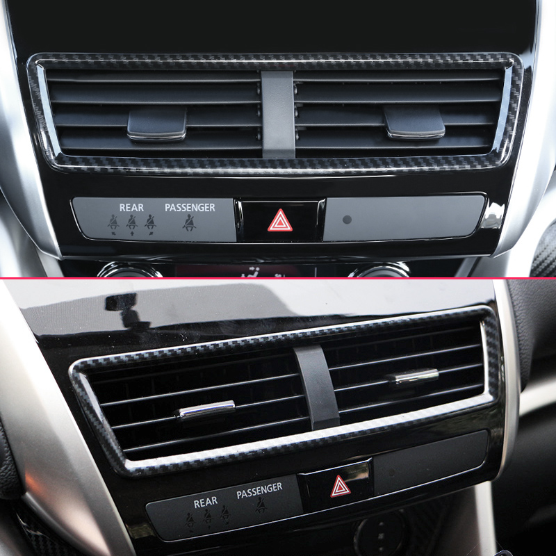 Interior The First Row Seat Air Vent Trim For Mitsubishi Eclipse Cross 2018-2019
