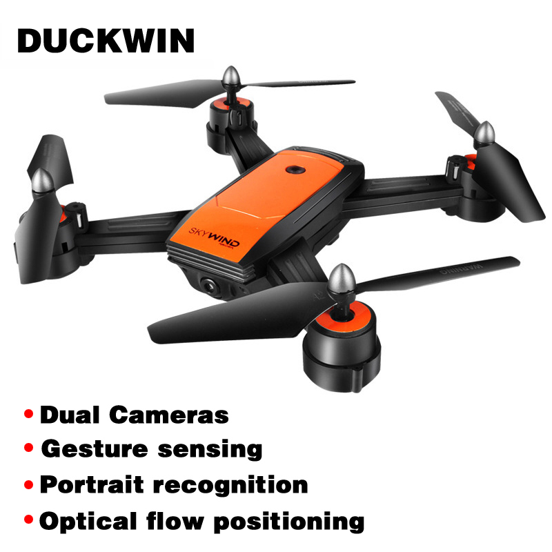 JDX34F WIFI FPV With Wide Angle Drones With Camera HD High Hold Mode Foldable Arm RC Quadcopter Toys For Children Mini Drone RTF