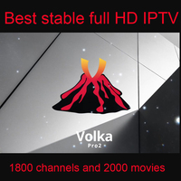 Volka IPTV Code Subscription 1800 Channels 2000 Vod Movies One Year