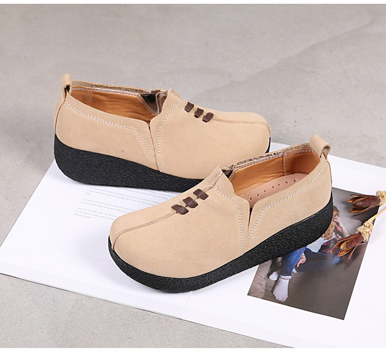 LL 3022-2019 Spring Autumn Women Wedge Shoes-3