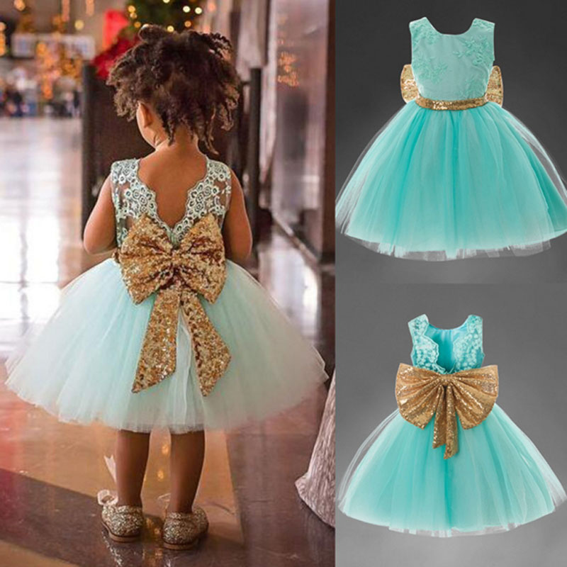 Summer Dress for Girls Kids Clothes Sequins Big Bow Dresses Toddler Birthday Party Princess Holiday Ball Gown Children Clothing summer dresses for girls lace bow birthday party long sleeve costume clothes children fashion evening princess kids party dress