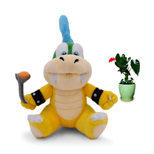 Anime Super Mario Bros Koopalings Larry Cheatsy Peluche Doll Plush Soft Stuffed Baby Toy Great Christmas Gift For Children