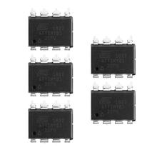 5Pcs ATTINY85-20PU ATTINY85 20PU ATTINY85-20 ATTINY85 ATMEL DIP Chip 5pcs kbl608 6a 800v dip 4 bridge rectifiers
