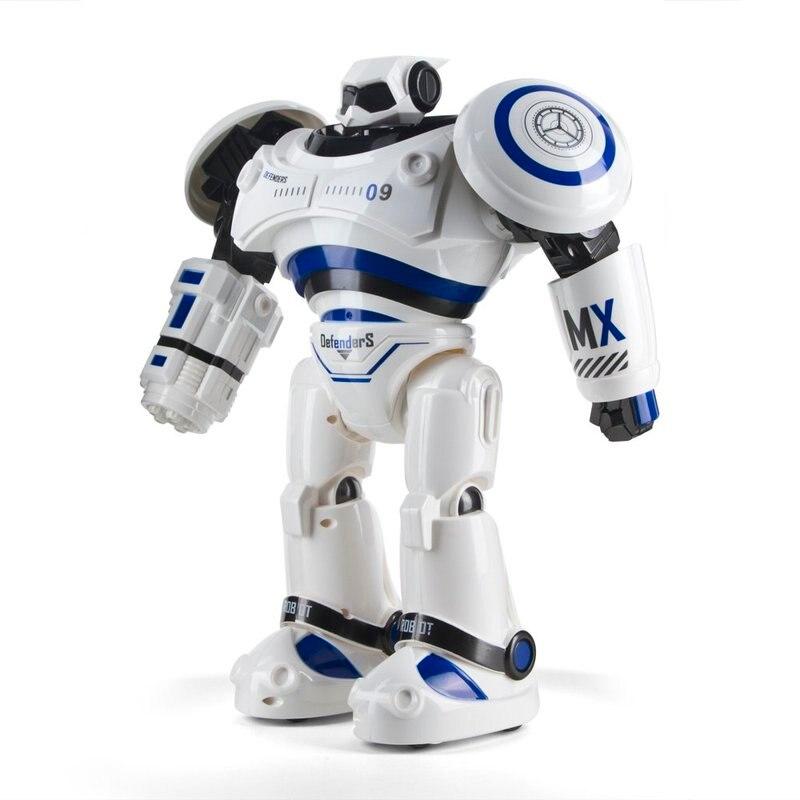 Smart Walking Robot Gesture Remote Control RC Toys Friends Gift for Kids 1701B Sensor Control Intelligent Combat Robot