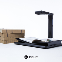 Professional High Speed Book Scanner With 20MP Dual HD Camera & OCR for A3 Size Bound Documents & Books without Loosing Sheets