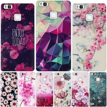 2016 Soft TPU Protector Case For Coque Huawei Ascend P9 Lite Case Sili